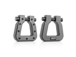 Picture of Demon V2 Hook Square D-Ring - Pair - Anthracite Metallic
