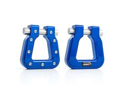 Picture of Demon V2 Hook Square D-Ring - Pair - Blue