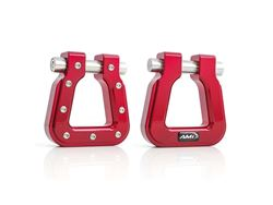 Picture of Demon V2 Hook Square D-Ring - Pair - Red