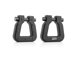 Picture of Demon V2 Hook Square D-Ring - Pair - Tactical Black