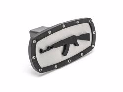 Picture of Trailer Hitch Cover - Black - 2 in. - AK-47