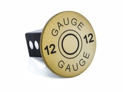 Picture of Trailer Hitch Cover - Gold - 2 in. - 12 Gauge