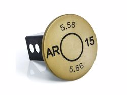 Picture of Trailer Hitch Cover - Gold - 2 in. - AR-15 5.56