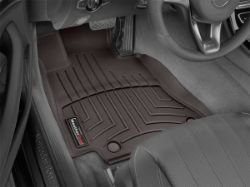 Picture of DigitalFit Floor Liners - Cocoa - Front - 2 Piece