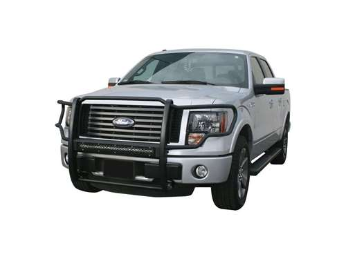Aries Pro Series Grille Guard w/LED Light Bar