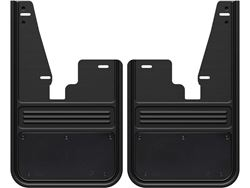 Gatorback RAM Black Powder Coated Plate No Drill Front Mud Flaps - without OEM fender flares
