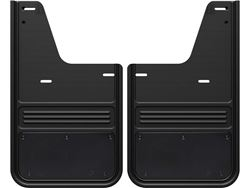 2009-2018 RAM Gatorback Black Powder Coated Plate No Drill Rear Mud Flaps