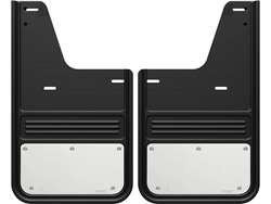 2009-2018 RAM Gatorback Stainless Steel Plate No Drill Rear Mud Flaps