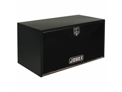 JOBOX Black Steel Pan-Door Underbed Truck Box 24