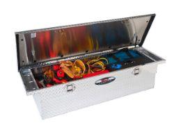 Delta Aluminum Single Lid Fullsize Slimline Crossover Truck Box