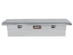 JOBOX Low-Profile Aluminum Single Lid Fullsize Crossover Truck Box