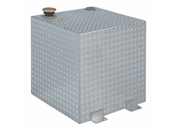 JOBOX 50 Gallon Square Aluminum Liquid Transfer Tank for Trucks