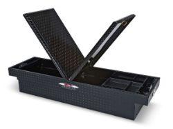Delta Black Aluminum Dual Lid Fullsize Crossover Truck Box
