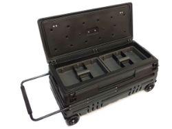 Picture of DU-HA Squad Box Interior/Exterior Portable Storage Gun Case - Black - Manual Latch