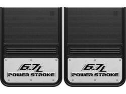 Gatorback 14x18 NEW POWER STROKE Mud Flaps (Bracket Required)