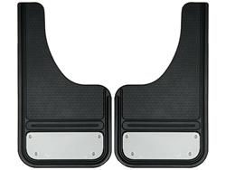 GatorBack Mini CUT Mud Flaps w/ Stainless Plate - 10