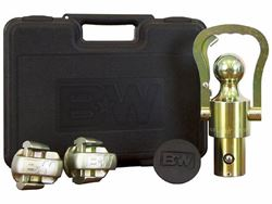OEM Ball & Safety Chain Kit - With Gooseneck Hitch Prep Package