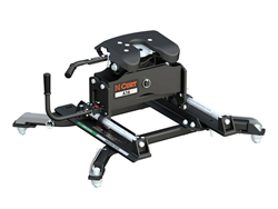 A16 Fifth Wheel Hitch with Roller and Ram OEM Puck Roller Adapter - 16000 lbs. Capacity