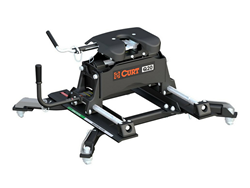 Q20 Fifth Wheel Hitch with Roller and Ram OEM Puck Roller Adapter - 20,000 lbs. Capacity