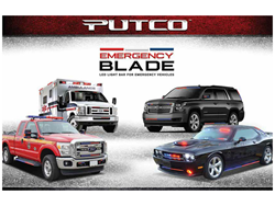 Putco Emergency Blade LED Light Bars - Emergency Vehicles Only