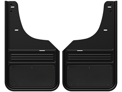 Truck Hardware Gatorback Mud Flaps - Black Powder Coat Plate - Nissan