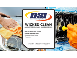 Secondary Safety Label - Wicked Clean All Purpose Cleaner & Degreaser