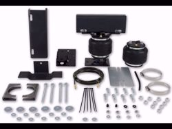 Picture of LoadLifter 5000 Ultimate Air Spring Kit - Rear - Adjustable - With Internal Jounce Bumper - 2 Hr Install - Safely Run w/Zero Air Pressure - Extended Cab