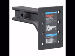 Picture of Adjustable Pintle Mount - 20000lbs GTW