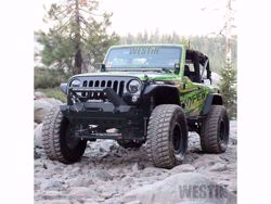 Westin WJ2 Jeep Stubby Front Bumpers