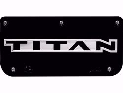 Gatorback Replacement Plate Black Titan