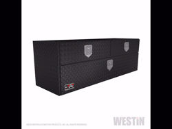 Picture of Brute UnderBody Tool Box - Textured Black  - w/Top And Bottom Drawers