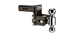 Picture of Dual Ball Mount - 2 in. Receiver - 1 7/8 in. & 2 in. Ball - 3 in. Drop - 3.5 in. Rise