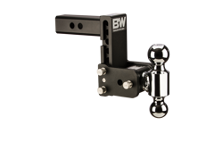 Picture of Dual Ball Mount - 2 in. Receiver - 2 in. & 2 5/16 in. Ball - 5 in. Drop - 5.5 in. Rise