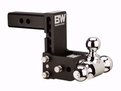 Picture of Tri Ball Mount - 2 in. Receiver - 1 7/8 in,  2 in. & 2 5/16 in. Ball - 5 in. Drop - 5.5 in. Rise