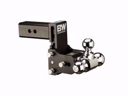 Picture of Tri Ball Mount - 2.5 in. Receiver - 1 7/8 in.,  2 in. & 2 5/16 in. Ball - 5 in. Drop - 5.5