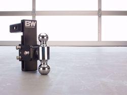 Picture of B&W Tow & Stow Adjustable Ball Mount