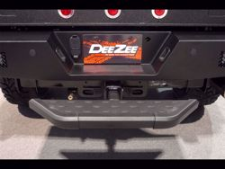 Picture of NXT Hitch Step - W 6 in. x L 30 in. - Fits 2 in. Receiver - Black Powdercoat - Aluminum