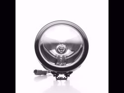 Picture of SlimLite Halogen Spot Beam - 6 in. Round - Clear Lens - Black Housing - 100 Watts - Pair