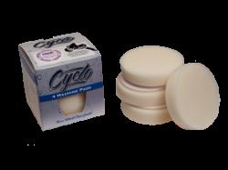 Cyclo Premium White Foam Pad - 4 pack
