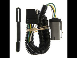 Picture of Replacement OEM Tow Package Wiring Harness - w/Factory 4 Flat Plug