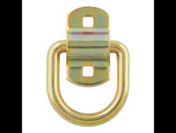 Picture of Forged D-Ring/Brackets - 1/2in. D-Ring - Yellow Zinc Finish