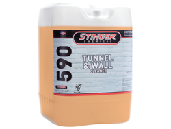 Tunnel and wall cleaner