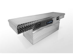 Picture of Aluminum Cross Box - 59.5 in. - Single Lid - Brite