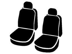 Picture of Wrangler Semi-Custom Solid Seat Cover - Gray - Bucket Seats - Adjustable Headrests