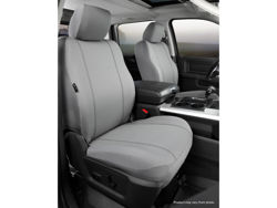 Picture of Seat Protector Custom Seat Cover - Gray - Bucket Seats w/Non-Removable/Adjustable Headrests And Side Air Bags