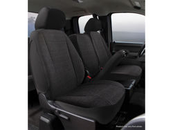 Picture of Wrangler Universal Fit Solid Seat Cover - Saddle Blanket - Black - High Back
