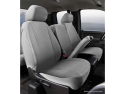 Picture of Wrangler Universal Fit Solid Seat Cover - Saddle Blanket - Gray - 1 pc. Cover - Truck High Back Bucket Seats