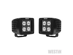Picture of HyperQ B-Force LED Auxiliary Light - 3.4 x 3.2 in. Spot - w/5W Cree - Black Housing