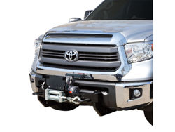 Picture of Max Winch Tray License Plate Bracket - Black - Hardware Included