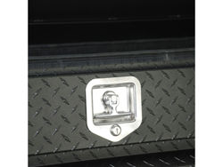 Picture of HDX Series Chestbox Tool Box - Textured Black Aluminum - Slanted Front